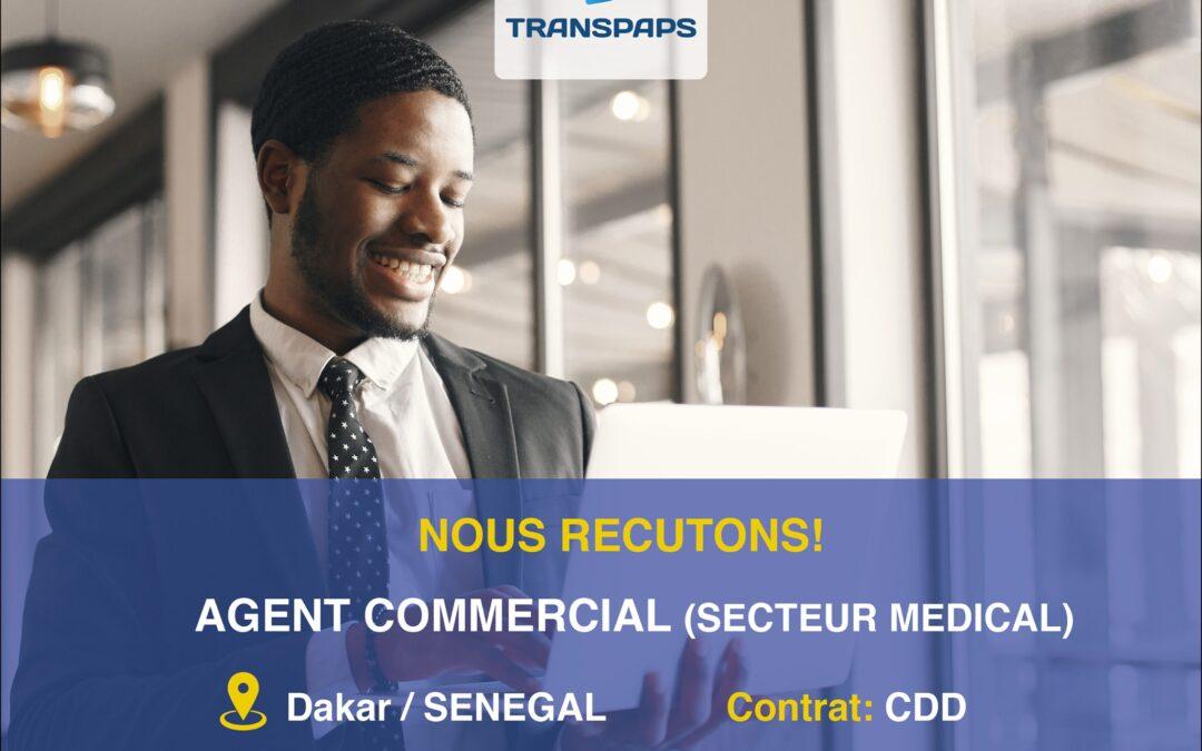 AGENT COMMERCIAL (secteur médical)